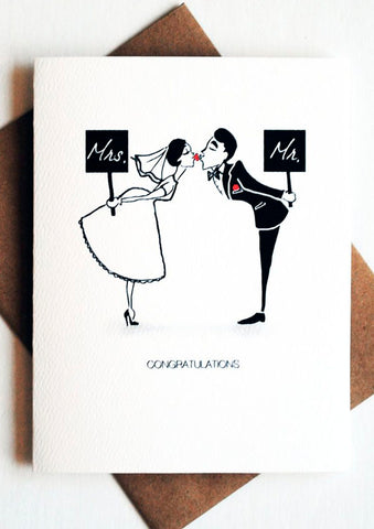 Sign Sweethearts - Mr. & Mrs.