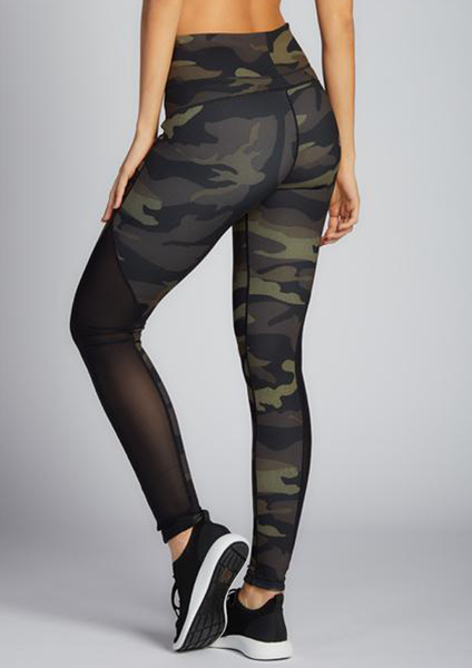 Camo Print Reversible Leggings