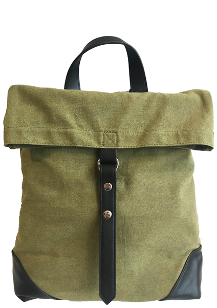 Samantha Canvas Backpack