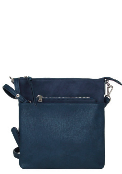 Flat Crossbody w/removable pouch