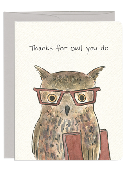 Owl Thanks
