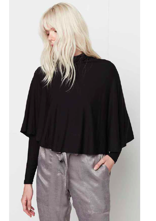 Perry Turtleneck Cape