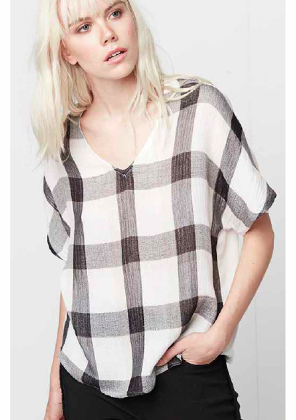 Thia Plaid Shirt