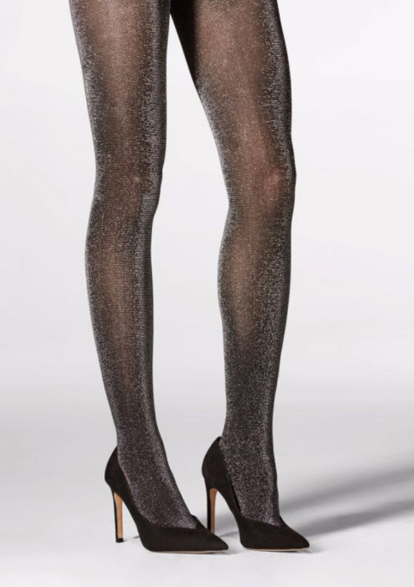 Black Glitter Tights