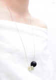 Cube & Orb Necklace