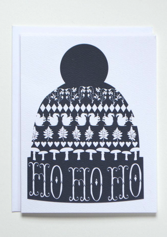 Holiday Touque Card
