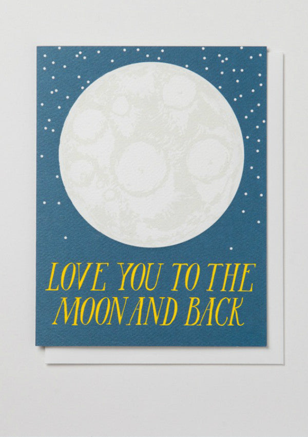 Love You to the Moon and Back Card