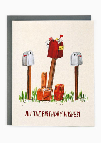Birthday Mailboxes