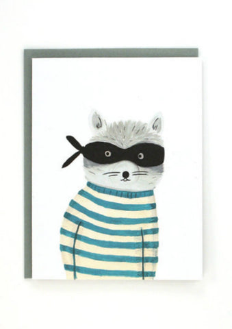 Card - Raccoon Bandit