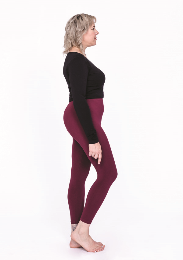Plus Size Bamboo Leggings