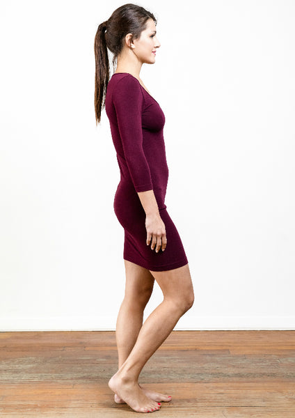 Bamboo 3/4 Sleeve Dress