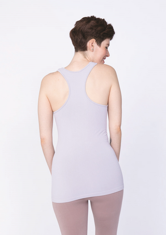 Bamboo Ribbed Racer Back