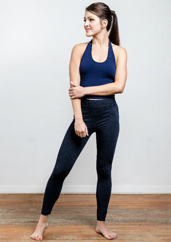 Bamboo Heathered Leggings
