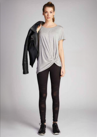 Mesh Patch Legging