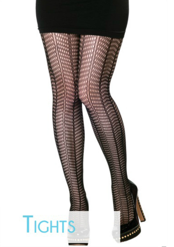 Mesh Striped Tights