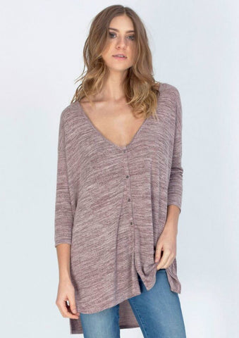 Impulse Heathered Top