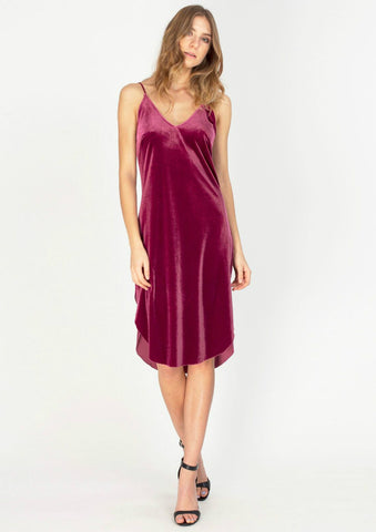 Manhattan Deep V Tank Dress
