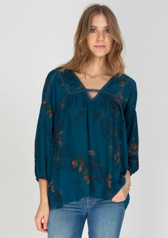 Oracle Paisley Blouse