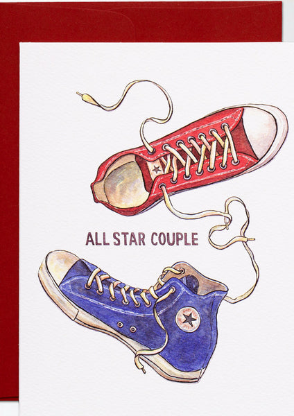 All Star Couple Card