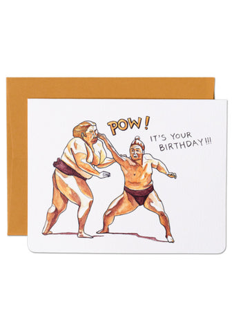 Birthday Pow Card