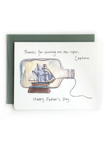 Captain Dad Card