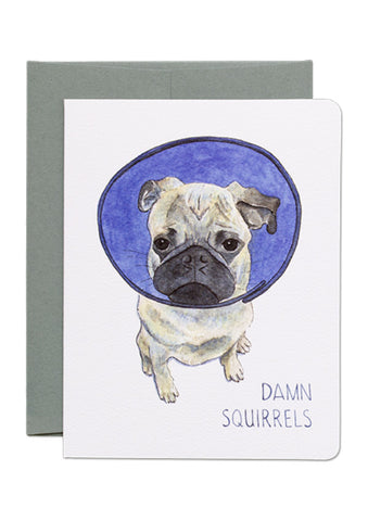 Damn Squirrels Card