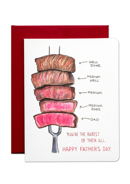 Rarest of Them All Father's Day Card