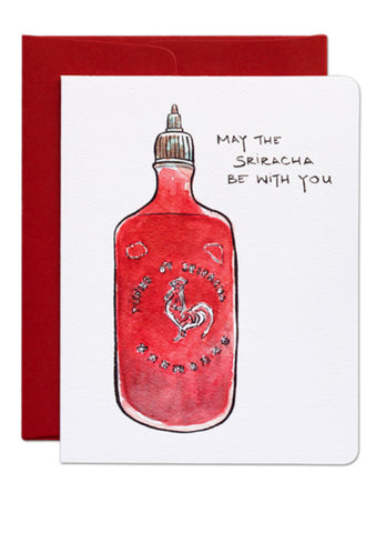 Force of Sriracha Card