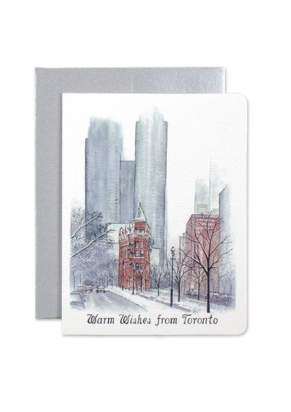 Toronto Warm Wishes Card