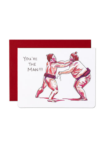 You're the Man Card
