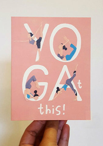 Yo-Gat-This! Card