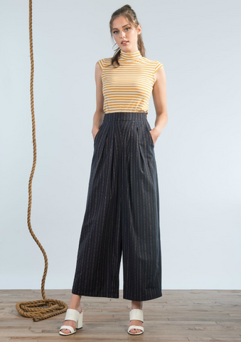 Sheave Wide Leg Trouser