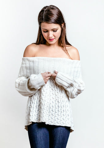 Billie Off the Shoulder Sweater