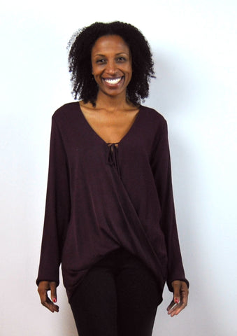 Nellisa Draped Blouse