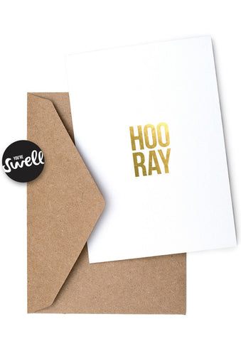Hoo Ray Card