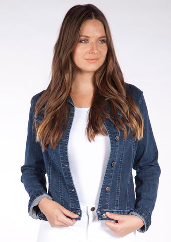 Spring Trunk Show - Indigo Denim Jacket