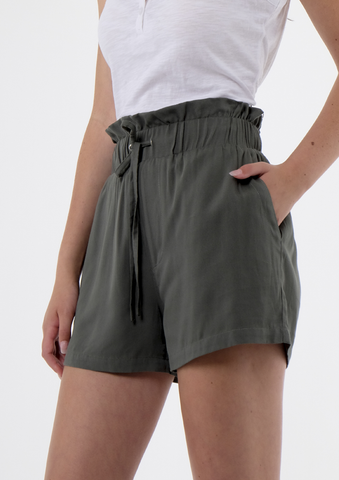 Shorts w/ Cinched Waist