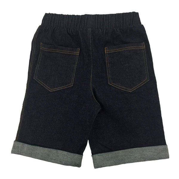 Bermuda Short in Denim - Hibou Clothing