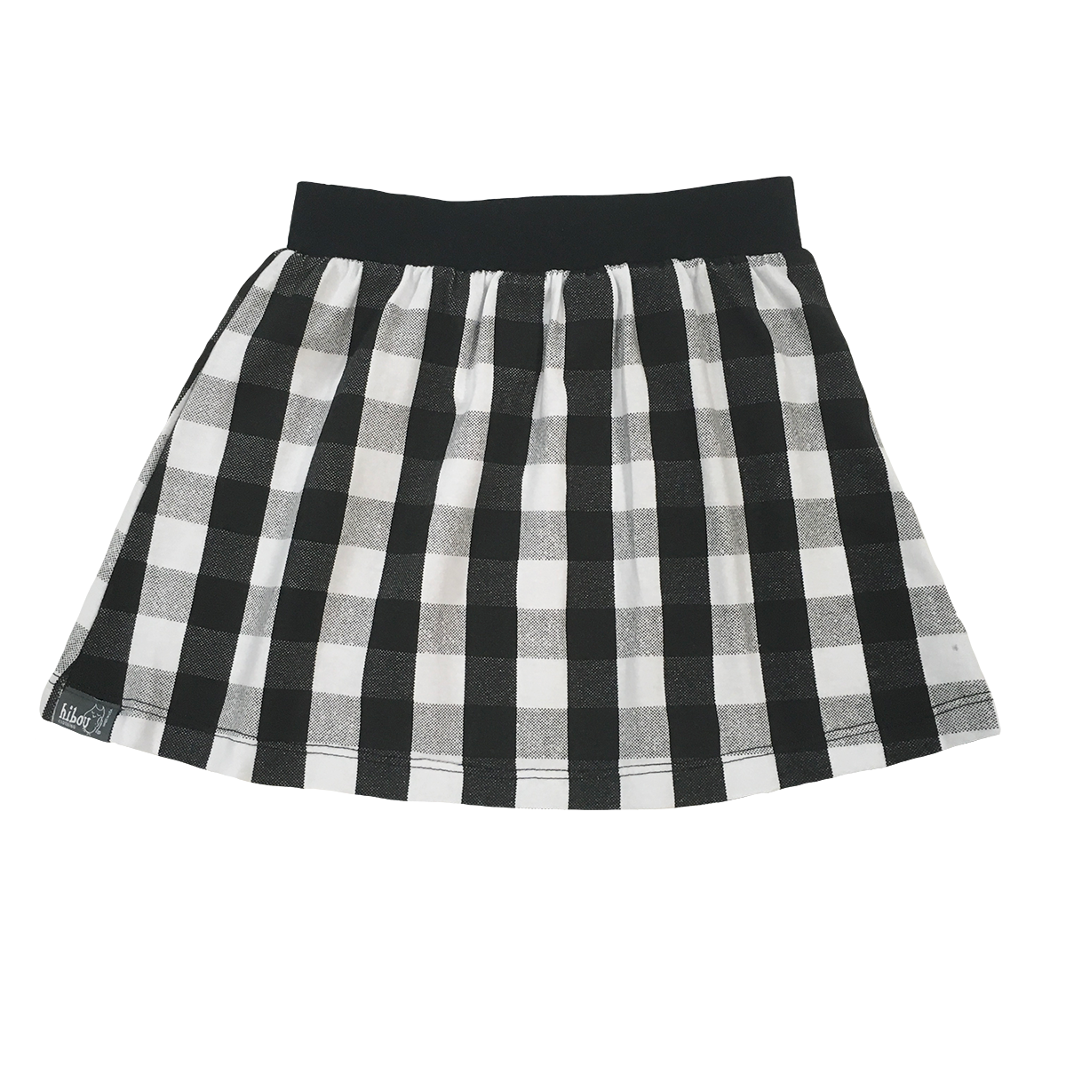 6cbb168045fb Buy Black & White Plaid Skirt at Hibou Clothing for only $ 34.00