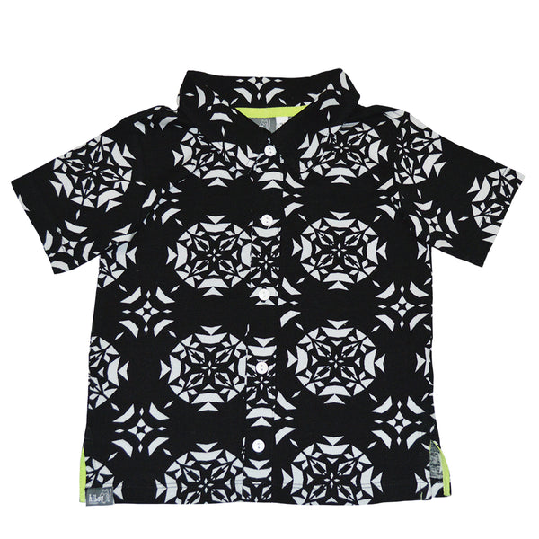Kaleidoscope Party Shirt - Hibou Clothing