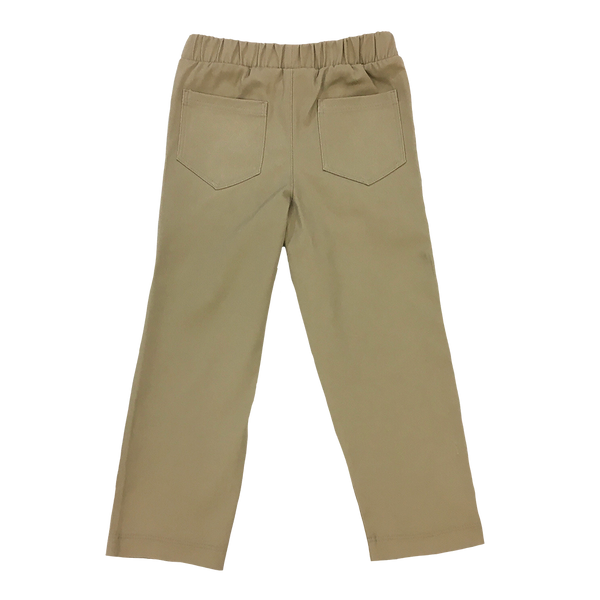 Straight Leg Khaki Twill Pant - Hibou Clothing