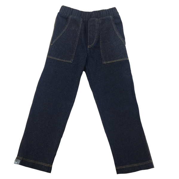 Straight Leg Denim Pant - Hibou Clothing