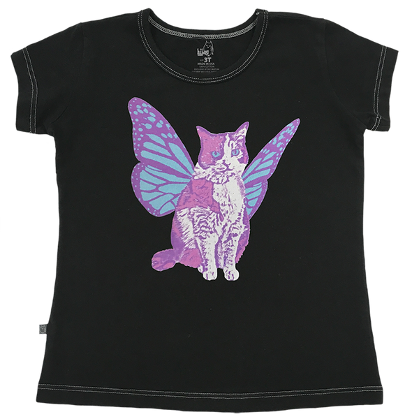Butterfly Kitty - Hibou Clothing