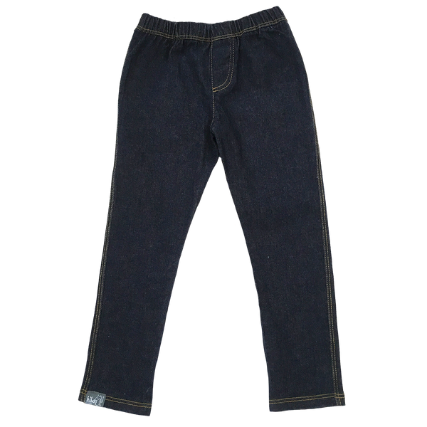 Fitted Denim Pant - Hibou Clothing