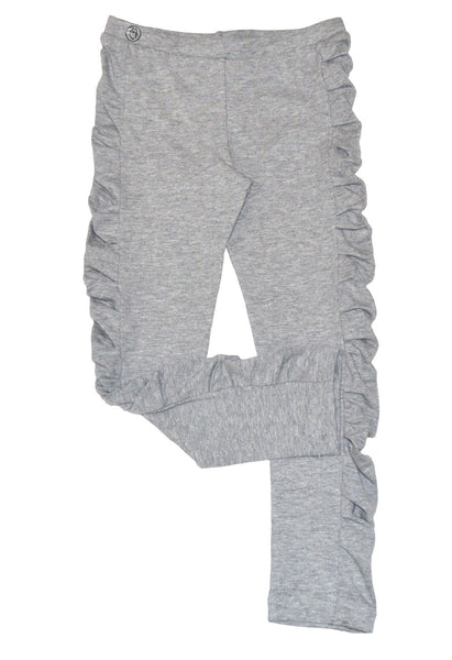 Heather Grey Ruched Legging - Hibou Clothing