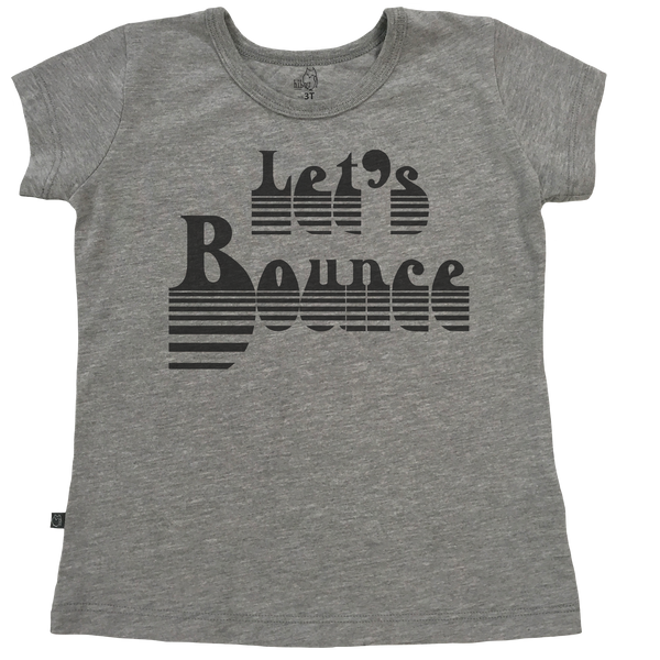 Let's Bounce Girls Tee - Hibou Clothing