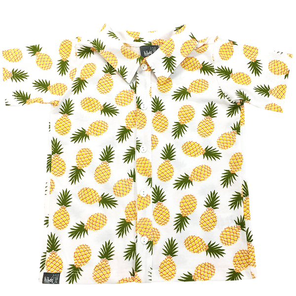 Pineapple Party Shirt - Hibou Clothing