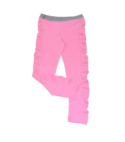 Pink Ruched Legging - Hibou Clothing