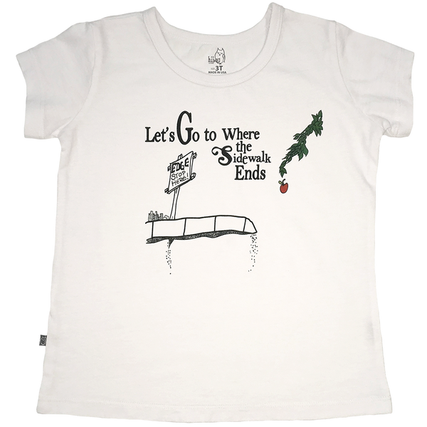 Let's Go! Girls Tee - Hibou Clothing