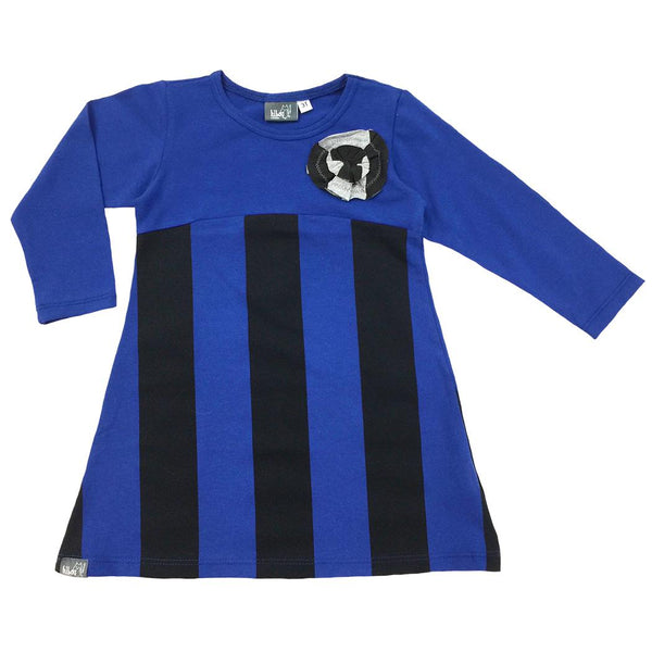 Blue Stripe Tunic - Hibou Clothing